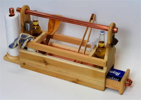 woodworking plan grill caddy