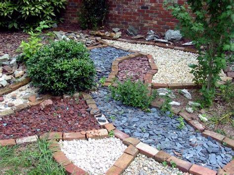 landscaping  stone  ideas  garden decorations
