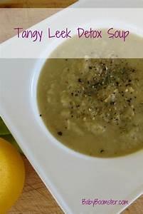 Tangy Leek Detox Soup - Recipe