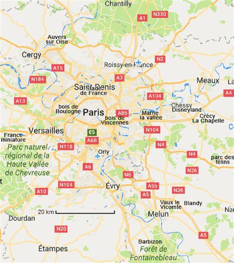 Region Parisienne by Informations Cartes Tourisme Region Parisienne
