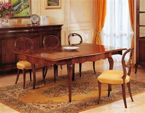 sala da pranzo in francese tavolo allungabile 800 francese vimercati meda