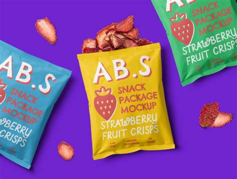 And the best thing is that you can use the same mockup to display your graphics for both the front and the back side. 25+ Free Snack Packaging Mockup PSD for Branding - Graphic ...
