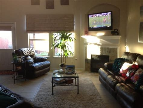 Oddly Shaped Living Room