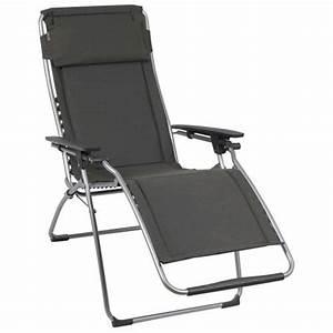 Fauteuil Relax Jardin : fauteuil relax futura clippe ardoise lafuma achat ~ Nature-et-papiers.com Idées de Décoration