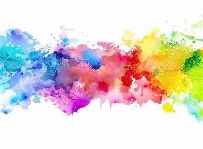 Transparent Splash Watercolor Background Vector Paint Backgrounds