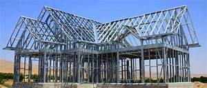 Cold Formed Steel Frame Prefab Houselight Gauge Steel ...