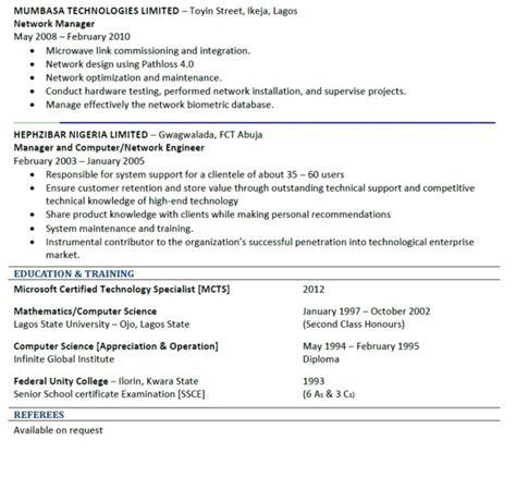 is my resume god yaho good cv sle jobs vacancies nigeria