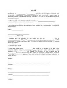 Form Last Will and Testament Template