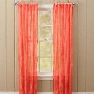 coral curtains  drapes twisted curtain  coral polyvore bedroom drapes pinterest