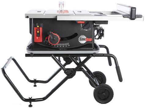 table saw safety stop sawstop jobsite table saw 10 inch portable tablesaw