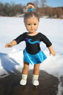 American Girl Doll Ice Skating Outfit