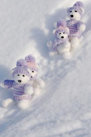 Animated Teddy Wallpapers For Mobile - teddy bears winter happy iphone wallpaper mobile