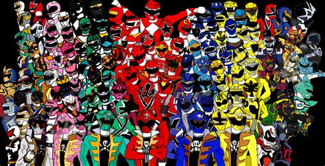 120 power rangers by lavenderranger on deviantart