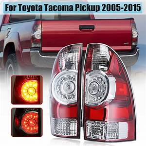 For Toyota Tacoma Pickup 2005 2015 Left  Right Tail Light