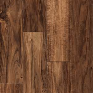 shop allen roth acacia wood planks laminate flooring sle at lowes com