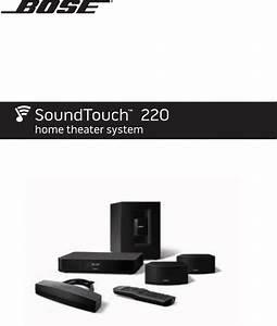 Bedienungsanleitung Bose Soundtouch 220  40 Seiten