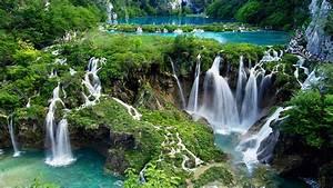 Waterfall HD Wallpaper ·①