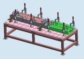 robotics machinery receiving gauges panel checkers