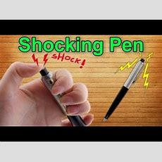 How To Make Shocking Pen Youtube