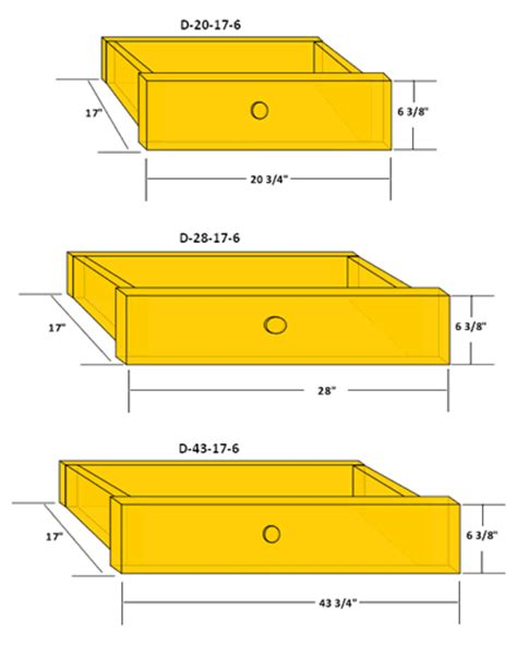 standard drawer sizes standard size panels 747 | 6%20DRAWER