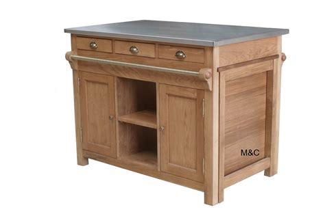meuble central de cuisine ilot de cuisine bourgogne en chne