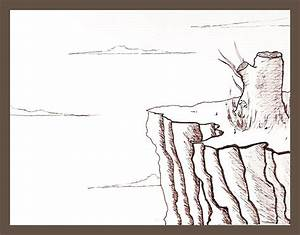 Dying Tree on Cliff by cloudgazerstudios on DeviantArt