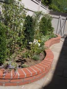 Image of: Brick Laminate Picture Brick Garden Wall Brick Patio Designs For Your Garden
