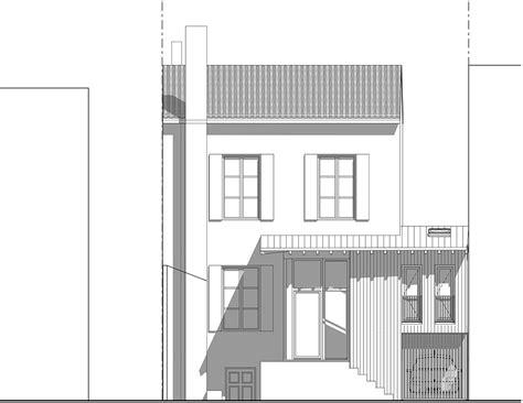 bureau de jardin bois extension et surélévation d une maison de ville pa