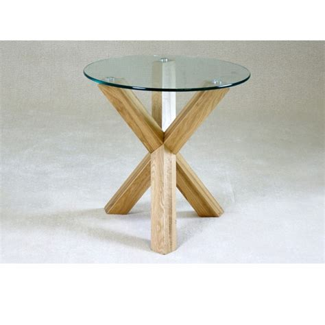 small glass side table small round glass dining table chairs contemporary
