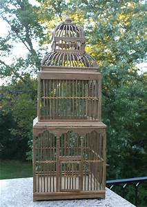 Tower Decorative Birdcage - Wedding Table Accessory - Tall