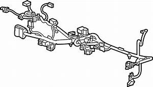 Cadillac Cts Console Wiring Harness  Lower Console