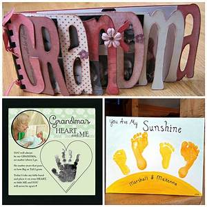 Mother's Day Gifts for Grandma - Crafty Morning