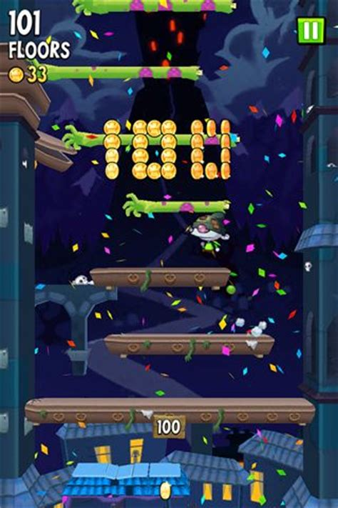 icy tower  zombie jump iphone game   ipa