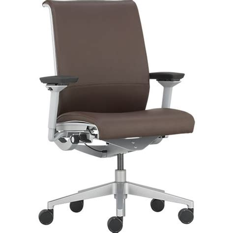 steelcase 174 think leather office chair