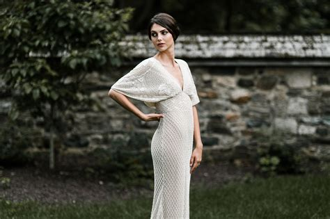 Enchanting Fall Wedding Fashion With Bhldn Green