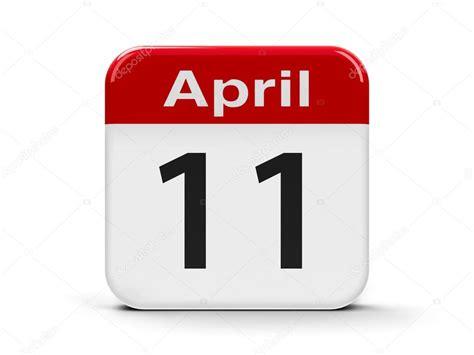 11th april calendar stock 169 oakozhan 104445828