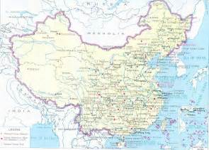 Detailed Map China