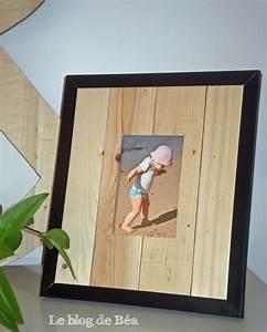 Photo Avec Cadre : pas pas comment fabriquer un cadre photo avec des cagettes le blog de b a ~ Teatrodelosmanantiales.com Idées de Décoration
