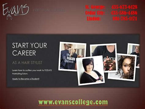 hairdresser assistant st george ut by evanscollege issuu