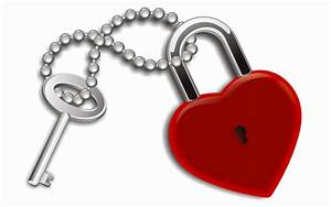Love lock and key love image