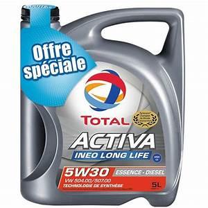 Huile Long Life Vw : huile moteur total activa long life essence diesel 5w30 5l ~ Melissatoandfro.com Idées de Décoration