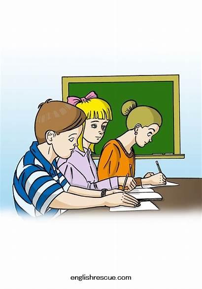 Take Classes Rutin Resimli Ingilizce Testi Guenluek