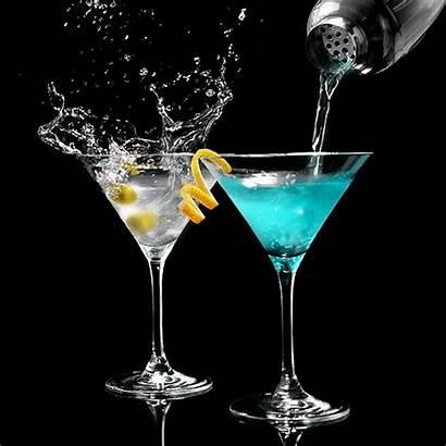 Drinks Angel Cocktail Vodka Creative Drink Cinemagraphs