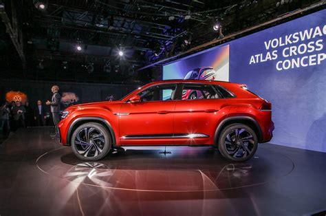 volkswagen atlas cross sport concept side  motor trend