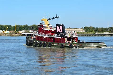 Tugboat Red by Red Tug Boat Photograph By Linda Covino