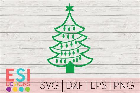Christmas Tree Outline Svg Free  – 154+ SVG File for Cricut