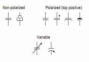 Pics For > Electrolytic Capacitors Symbol