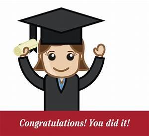 Congratulations You Did It Graduation