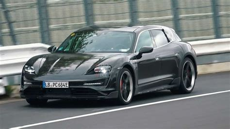 Porsche Taycan Cross Turismo Spied Testing At The Ring