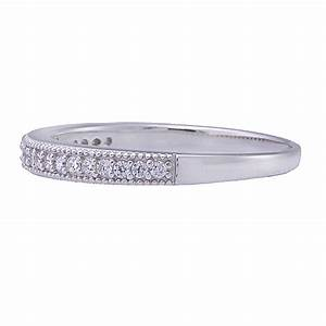 sterling silver cubic zirconia jewelry women wedding With womens wedding ring guards